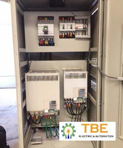 Cung cấp lắp đặt tủ điều khiển máy đùn ống chạy thận - Nhà máy Nikiso Việt Nam