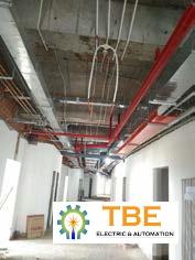 Lắp đặt hệ thống điện viện chấn thương chỉnh hình - Bệnh Viện 175 - BQP