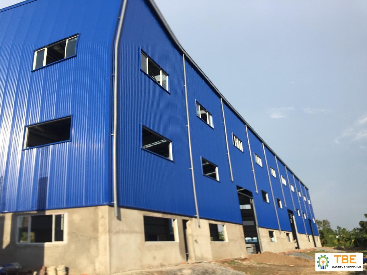 Cung cấp và lắp đặt hệ thống M & E  Côn trình nhà ở Sáu Phúc kết hợp nhà xưởng sản xuất